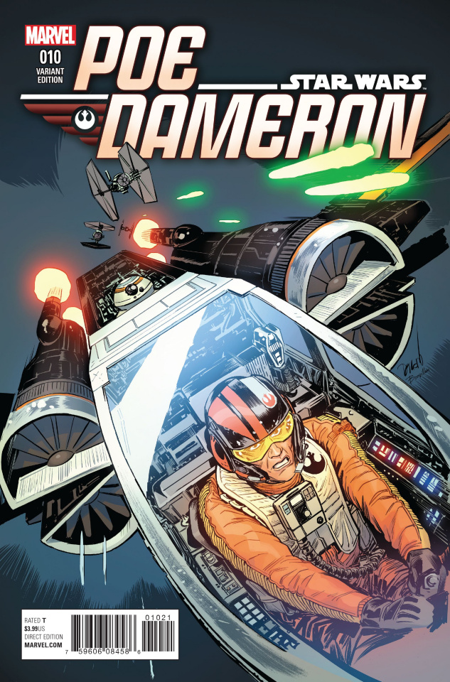 Star Wars: Poe Dameron #10 (Beyruth Cover)