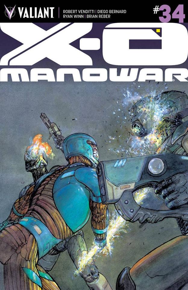 X-O Manowar #34 (10 Copy Pastoras Cover)