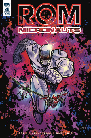 ROM & The Micronauts #4 (Milonogiannis Cover)
