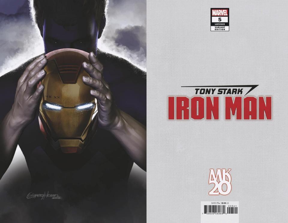 Tony Stark: Iron Man #5 (Horn MKXX Virgin Cover)