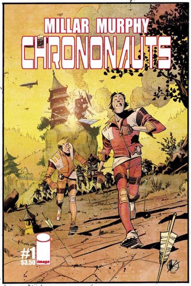 Chrononauts #1 (Scalera Cover)