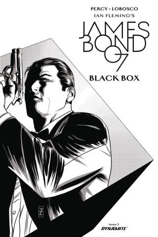James Bond: Black Box #3 (20 Copy Zircher B&W Cover)