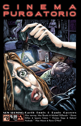 Cinema Purgatorio #8 (Code Pru Cover)