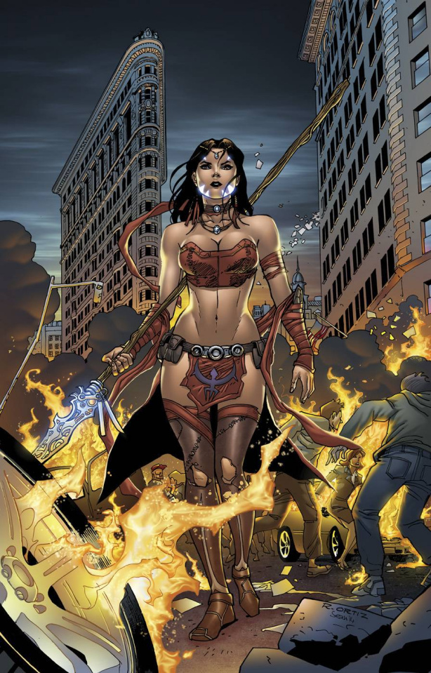 Grimm Fairy Tales: Robyn Hood #8 (Oritz Cover)