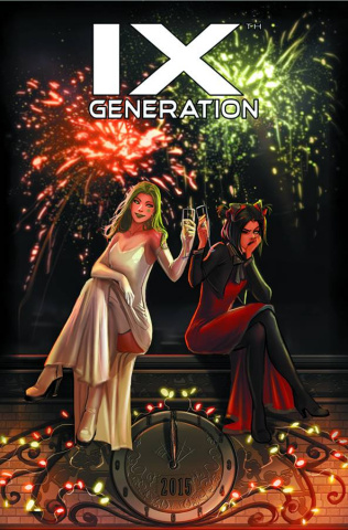 IXth Generation #1 (New Year's Eve Cover)
