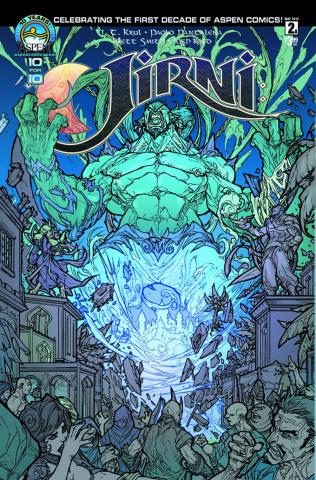 Jirni #2 (Direct Market Cover)