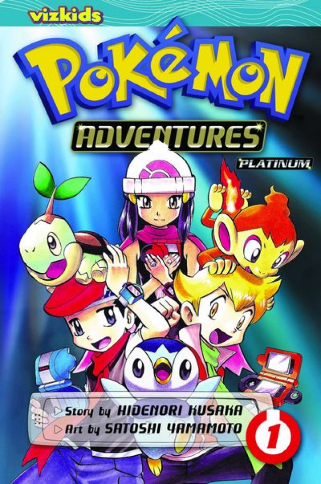 Pokemon Adventures: Platinum Vol. 1