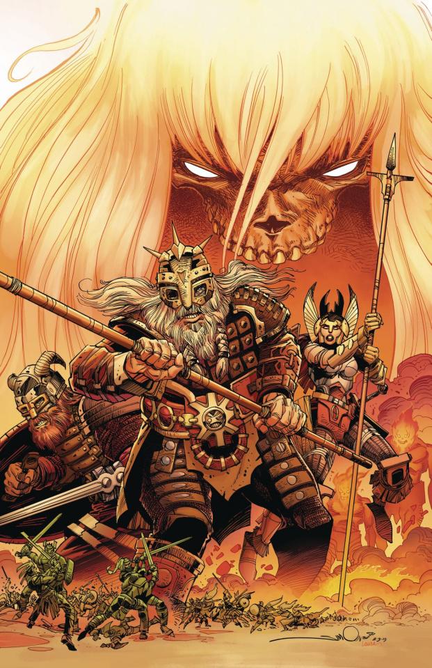 Ragnarök: The Breaking of Helheim #1 (Simonson Cover)