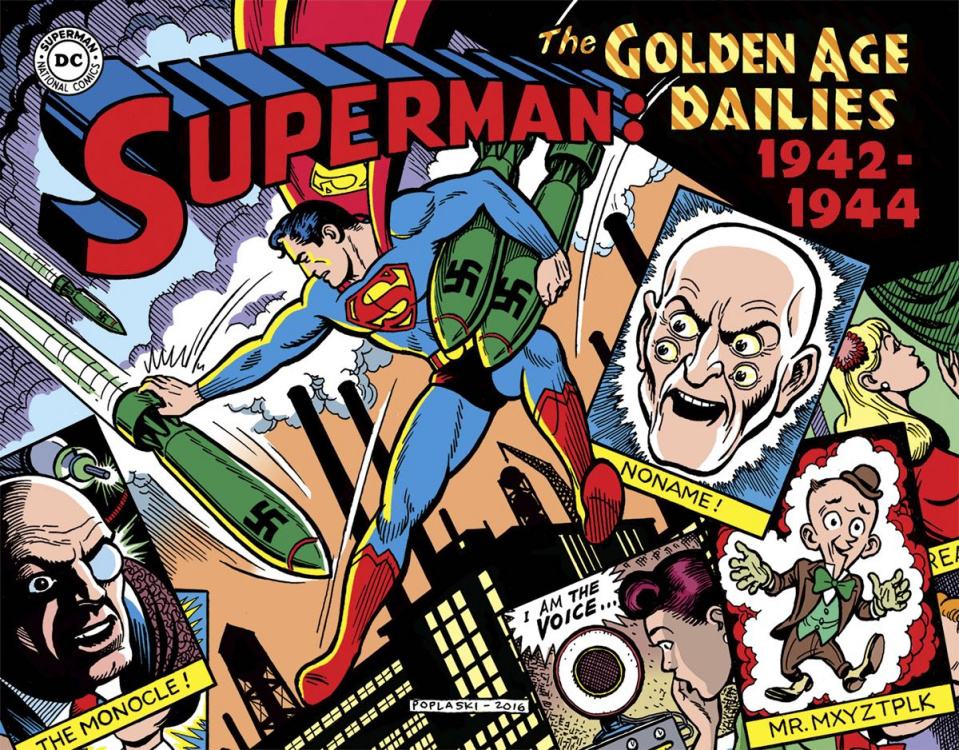 Superman: The Golden Age Newspaper Dailies 1942-1944