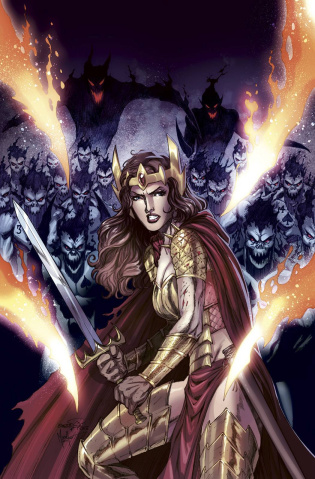 Grimm Fairy Tales: Wonderland - Clash of Queens #2 (Goh Cover)