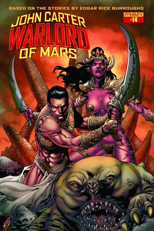 John Carter: Warlord of Mars #14 (Casas Cover)