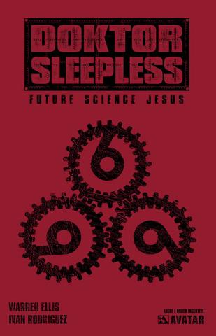 Doktor Sleepless #1 (Warning Sign Cover)