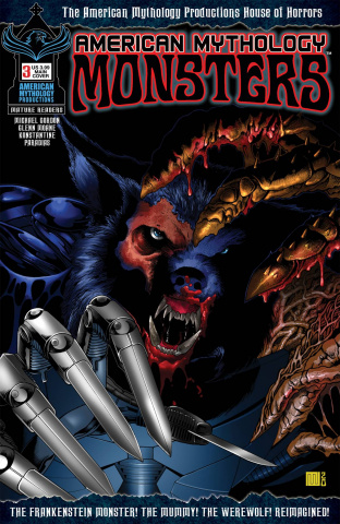 American Mythology: Monsters #3 (Wolfer Cover)