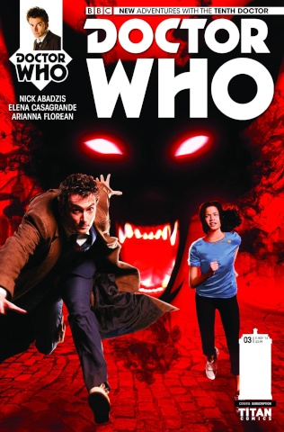 Doctor Who: New Adventures with the Tenth Doctor #3 (Subscription Cover)
