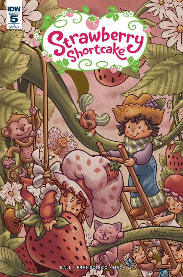 Strawberry Shortcake #5 (10 Copy Cover)