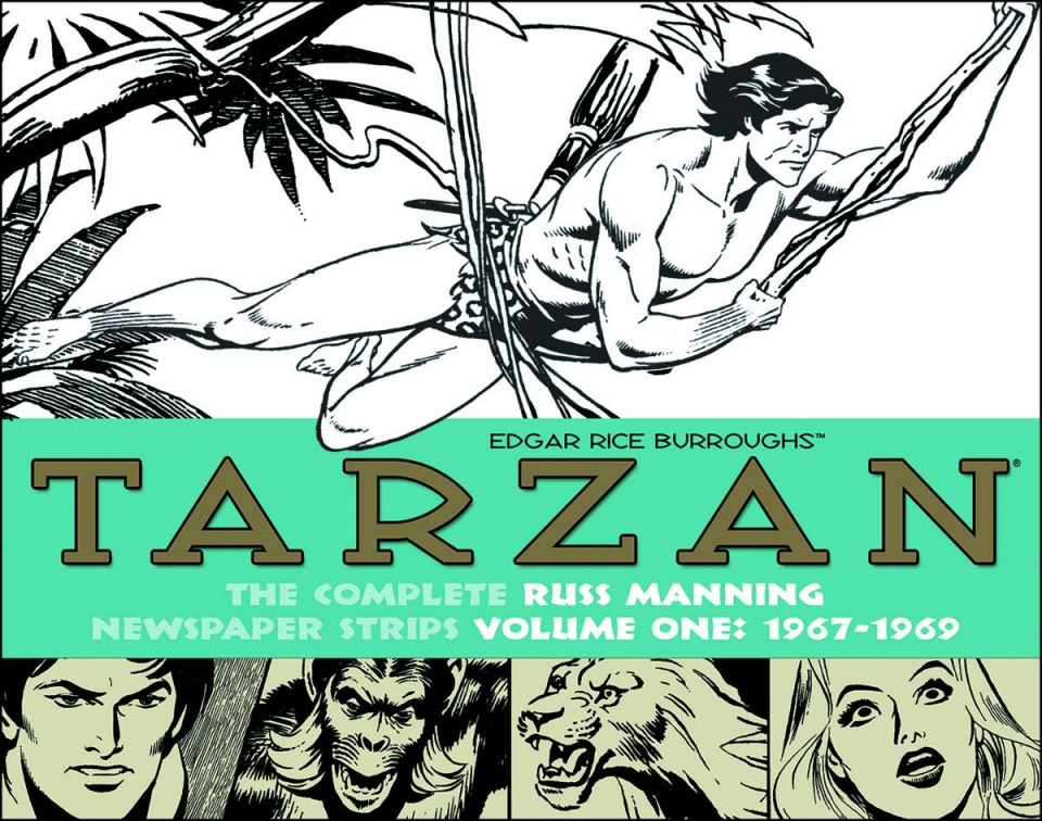 Tarzan: The Complete Russ Manning Newspaper Strips Vol. 1: 1967-1970