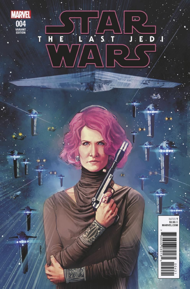 Star Wars: The Last Jedi #4 (Reis Cover)