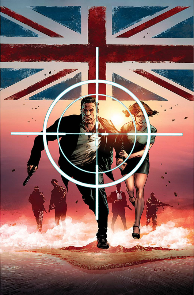 James Bond: Himeros #1 (Guice Virgin Cover)