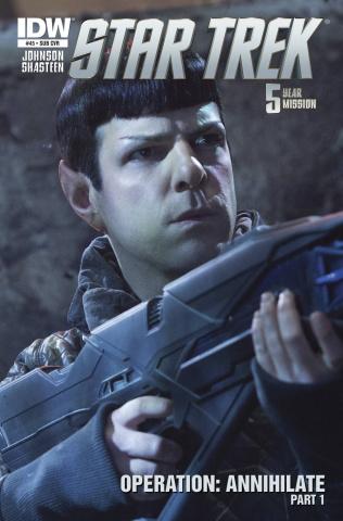 Star Trek #45 (Subscription Cover)
