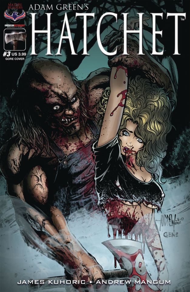 Hatchet #3 (Mangum Cut in Two Cover)