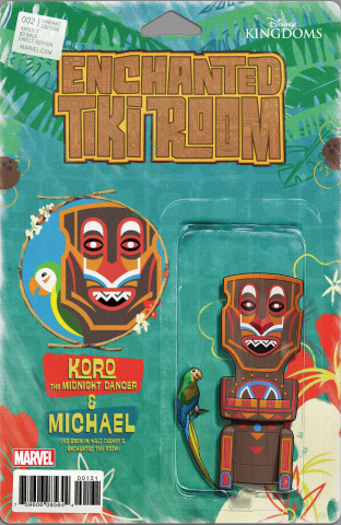 Enchanted Tiki Room #2 (Christopher Action Figure Cover)