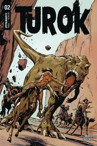 Turok #2 (Guice Cover)