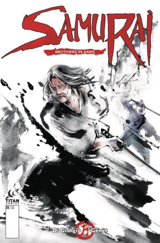 Samurai: Brothers in Arms #1 (Shan Cover)