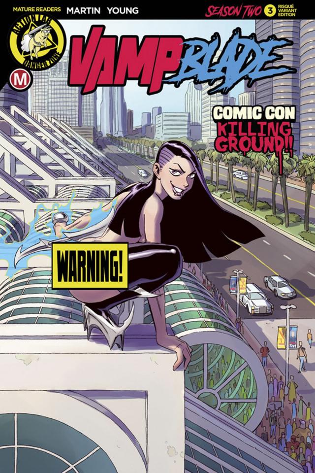 Vampblade, Season Two #3 (Winston Young Risque Cover)