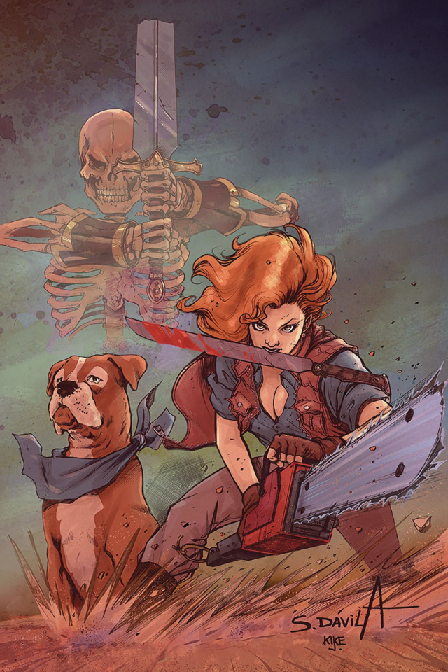 Death to the Army of Darkness #2 (Davila Virgin Cover)