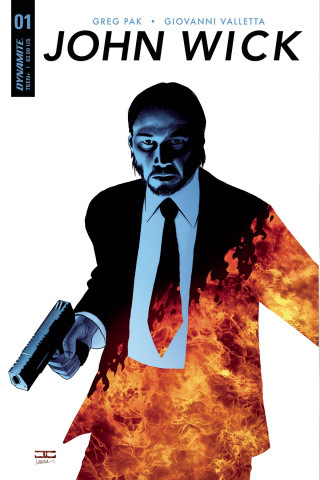 John Wick #1 (Cassaday Subscription Cover)