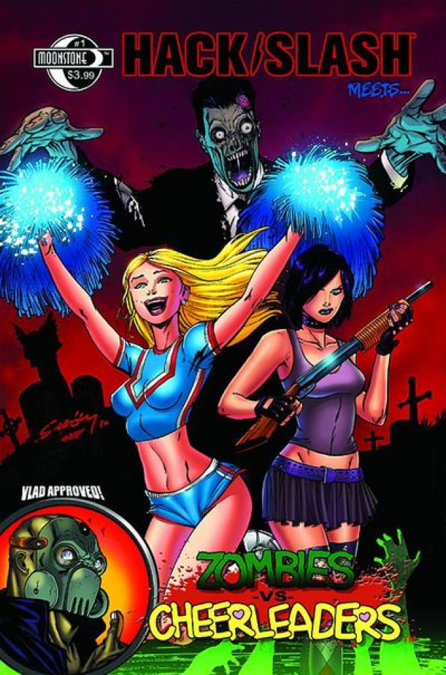 Hack/Slash Meets Zombies vs. Cheerleaders #1