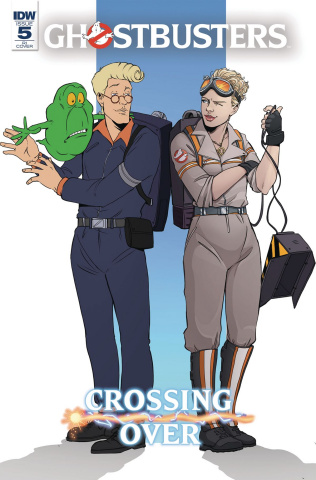 Ghostbusters: Crossing Over #5 (10 Copy Vieceli Cover)