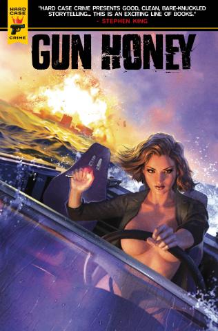 Gun Honey #4 (Ronald Cover)