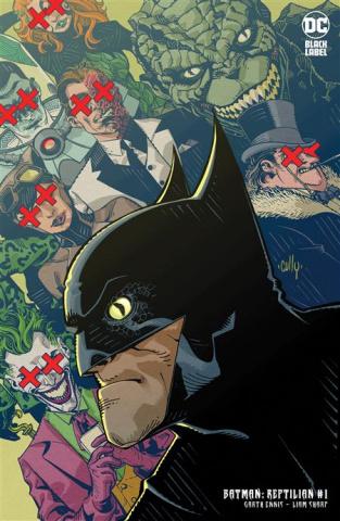 Batman: Reptilian #1 (Cully Hamner Card Stock Cover)