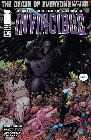Invincible #100 (Adams Cover)