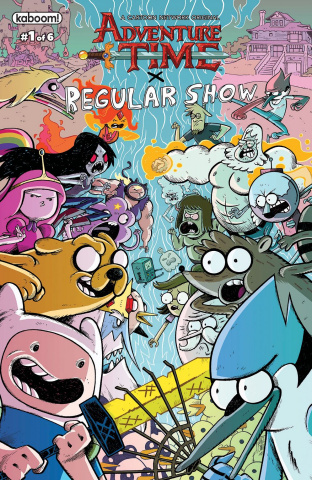 Adventure Time: Regular Show #1 (Subscription Corona Cover)