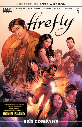 Firefly: Bad Company #1 (25 Copy Campbell Cover)