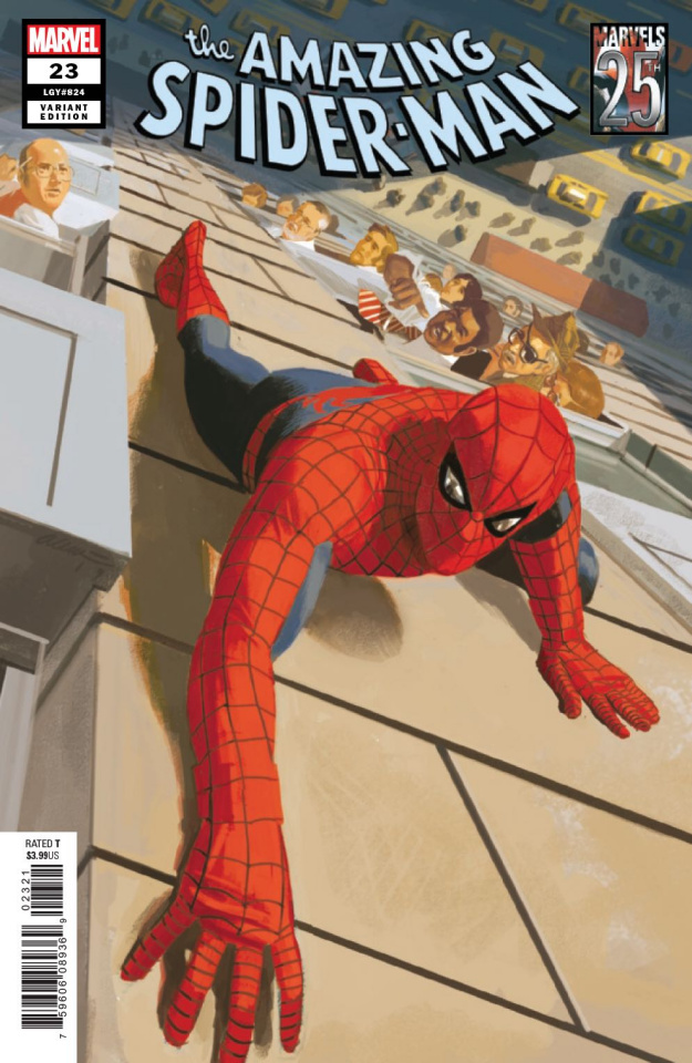 The Amazing Spider-Man #23 (Acuna Marvels 25th Anniversary Tribute Cover)