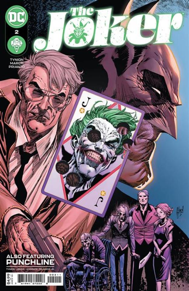 The Joker #2 (Guillem March Cover)
