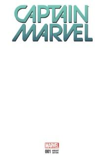 Captain Marvel #1 (Blank Cover)