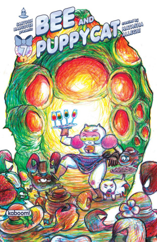 Bee and Puppycat #7 (15 Copy Fukushima Cover)