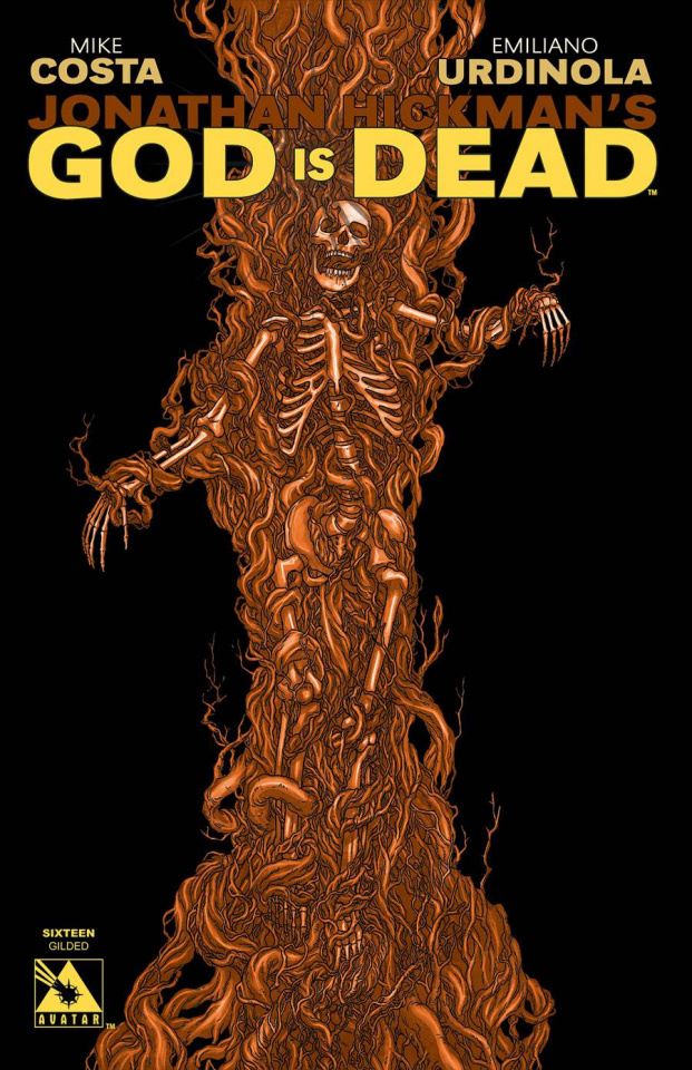 God Is Dead #16 (Gilded Cover)