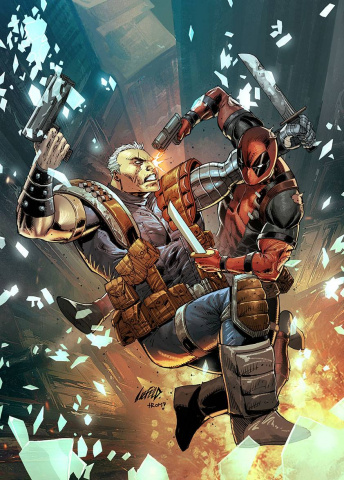 Deadpool and Cable: Split Second #1 (Liefeld Cover)