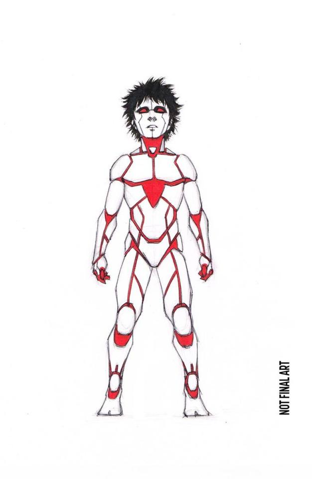 Rai #13 (10 Copy Character Design Cafu Cover)