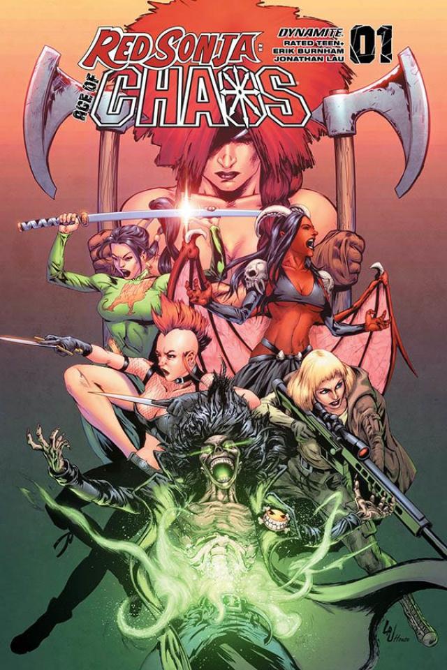 Red Sonja: Age of Chaos #1 (Lau Bonus Cover)