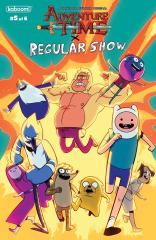 Adventure Time: Regular Show #5 (Subscription Di Nicuolo Cover)