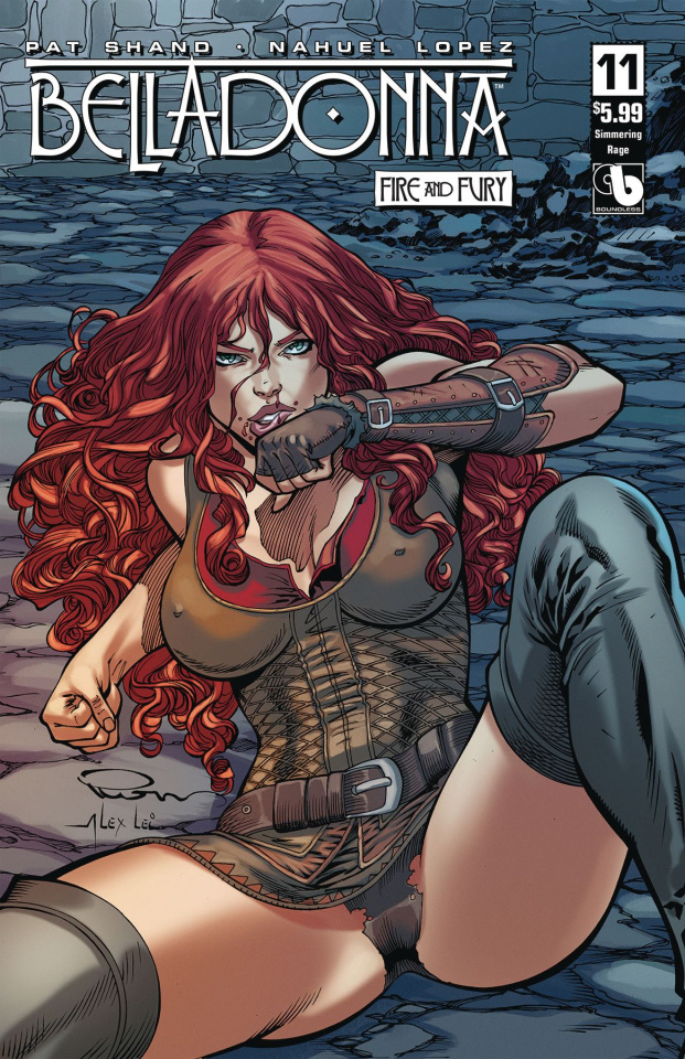 Belladonna: Fire and Fury #11 (Simmering Rage Cover)