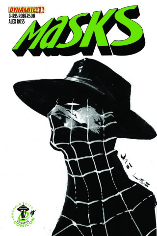 Masks #1 (Emerald City Comicon Spider Cover)
