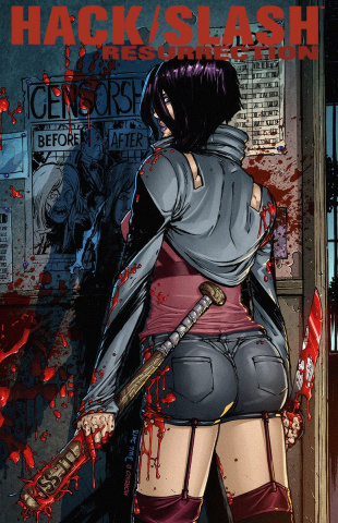 Hack/Slash: Resurrection #12 (Leister Cover)
