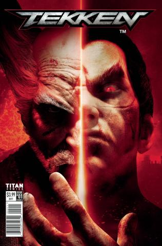 Tekken #1 (Videogame Cover)
